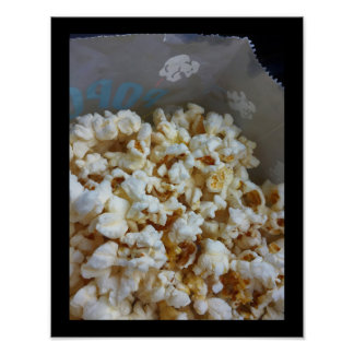 Bag of Popcorn Poster