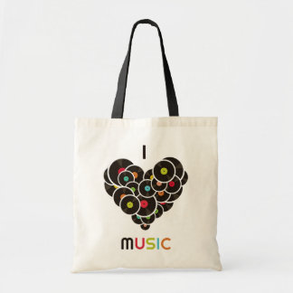 """Bag of purchases """"I Music """""""