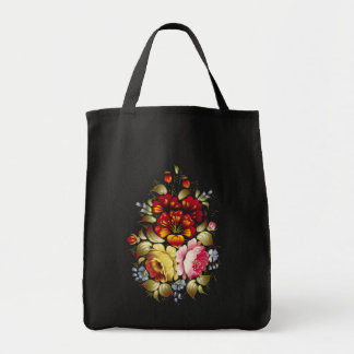 """Bag of purchases """"Wonderful Vector Flowers """""""