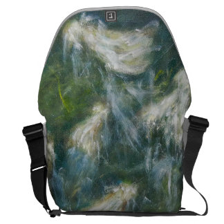 """Bag - Painting """"White Dresses"""" Courier Bags"""