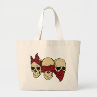 "Bag ""Skull (deaf, blind, dumb) """