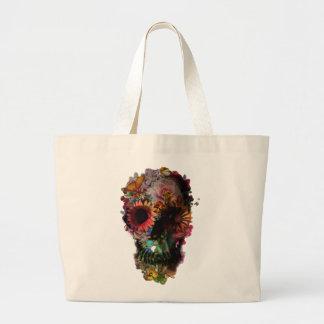 """Bag """"Skull of flowers """""""