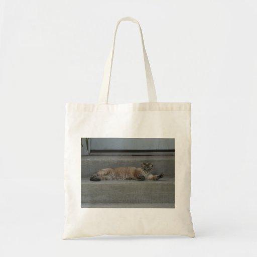Bag - Sleepy Cat Canvas Bag
