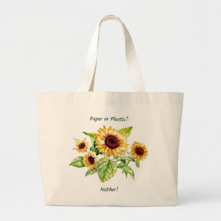 Bag, Sunflowers Jumbo Tote Bag