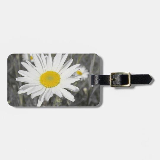 bag tag, woman, flowers + pattern, luggage tag