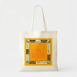 Bag with orange fashion purchase