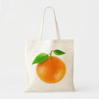 Bag with orange fruit