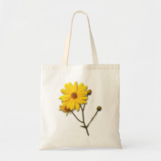 Bag with yellow flower