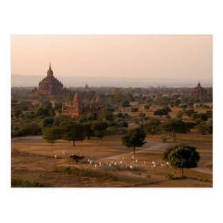 Bagan at Dusk Postcard