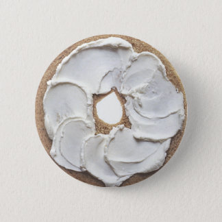 Bagel 6 Cm Round Badge