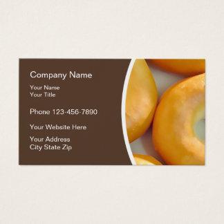 Bagel Bakery Modern Design Business Card