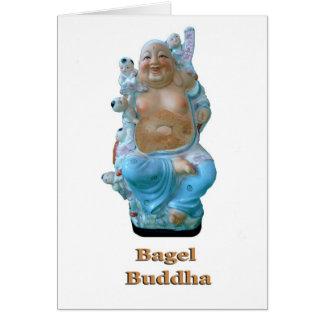 Bagel Buddha Card