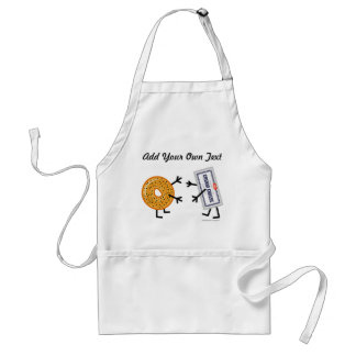 Bagel & Cream Cheese - Customizable Standard Apron