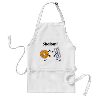 Bagel & Cream Cheese - Shalom! Adult Apron