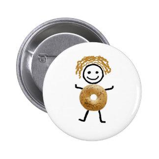 Bagel Kid 6 Cm Round Badge