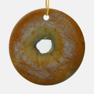 Bagel ornament
