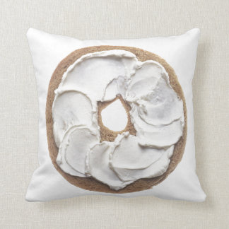 Bagel with Cream Cheese Cushion