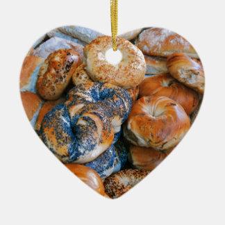 Bagels!! Ceramic Ornament