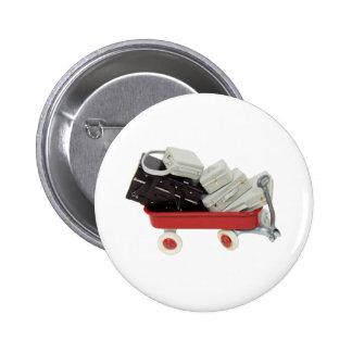 BaggageOfPast030709 copy Pinback Button
