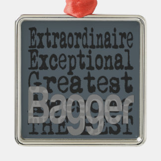 Bagger Extraordinaire Metal Ornament