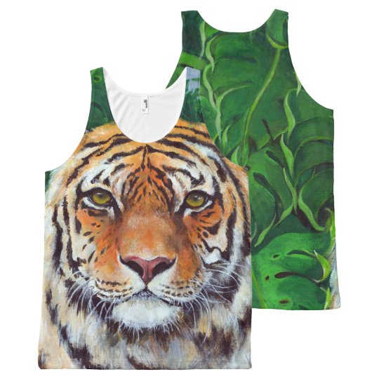 Bagheera the Tiger All-Over Print Tank