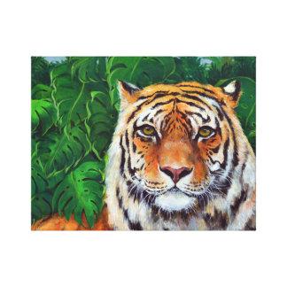 Bagheera the Tiger Canvas Print