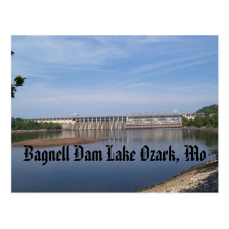 Bagnell Dam Lake Ozark, Mo Postcard