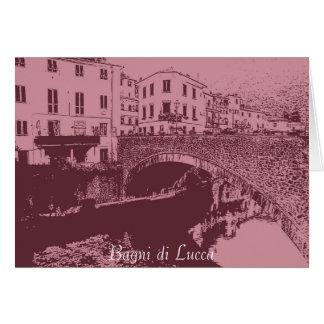 Bagni di Lucca II Card