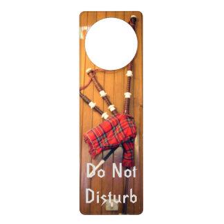 Bagpipe do not disturb DND Door Hanger