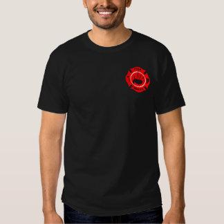 Bagpipe Fireman Rescue T-Shirt