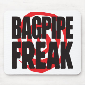 Bagpipe Freak Mouse Pads