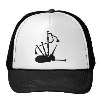 Bagpipe instrument trucker hats