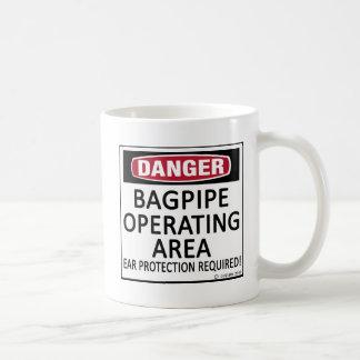 Bagpipe Operating Area Coffee Mug
