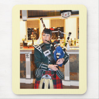 Bagpiper Mouse Pad
