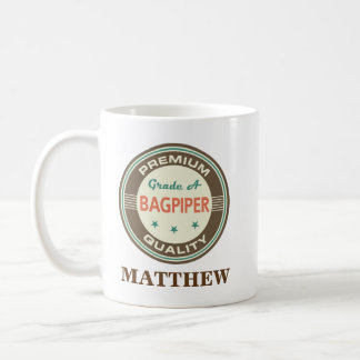Bagpiper Personalized Office Mug Gift