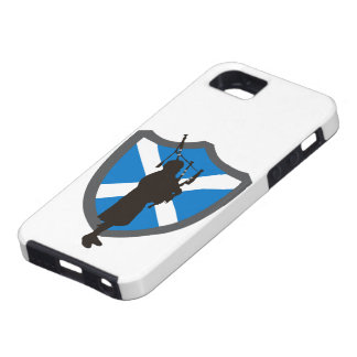 Bagpiper Shield Cellphone Case
