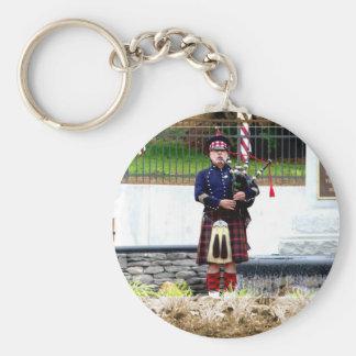 Bagpipes Key Ring