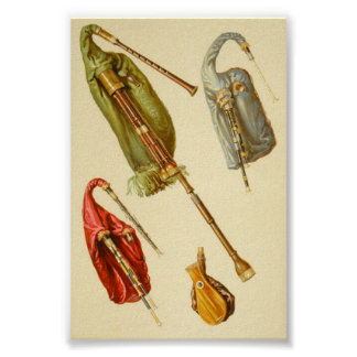 Bagpipes Poster