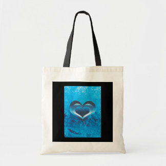 Bags - blue trendy grunge hearts