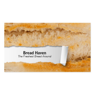 Baguette Customizable Food Closeup Business Card