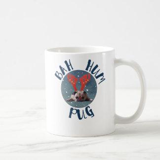 Bah Hum Pug Christmas Collection Coffee Mug