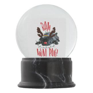 Bah Hum Pug! Snow Globe