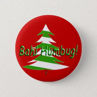 Bah! Humbug! 6 Cm Round Badge