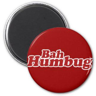 Bah Humbug Christmas Scrooge Refrigerator Magnet