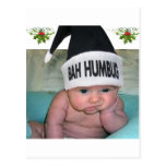 Bah Humbug Christmas Sucks!! Postcard