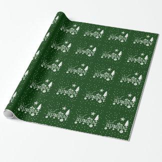 Bah Humbug, Christmas Wrapping Paper