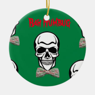 Bah Humbug de Morte Ceramic Ornament