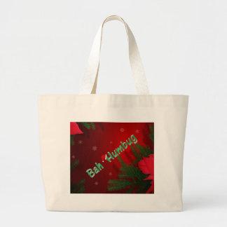 Bah Humbug Large Tote Bag