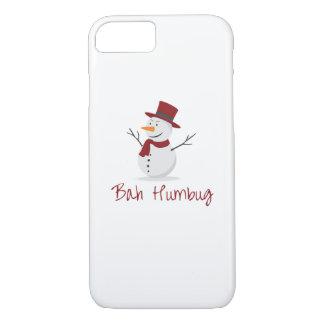 Bah Humbug -  Mischievous Snowman  - Christmas iPhone 8/7 Case