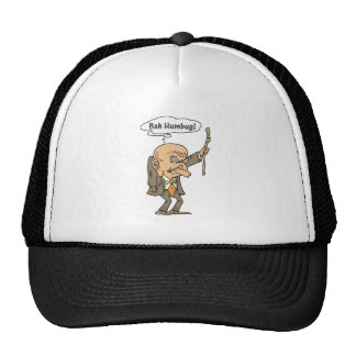 Bah Humbug Old Man Trucker Hat